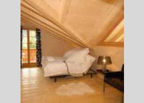 la champerolaine luxury chalet bedroom